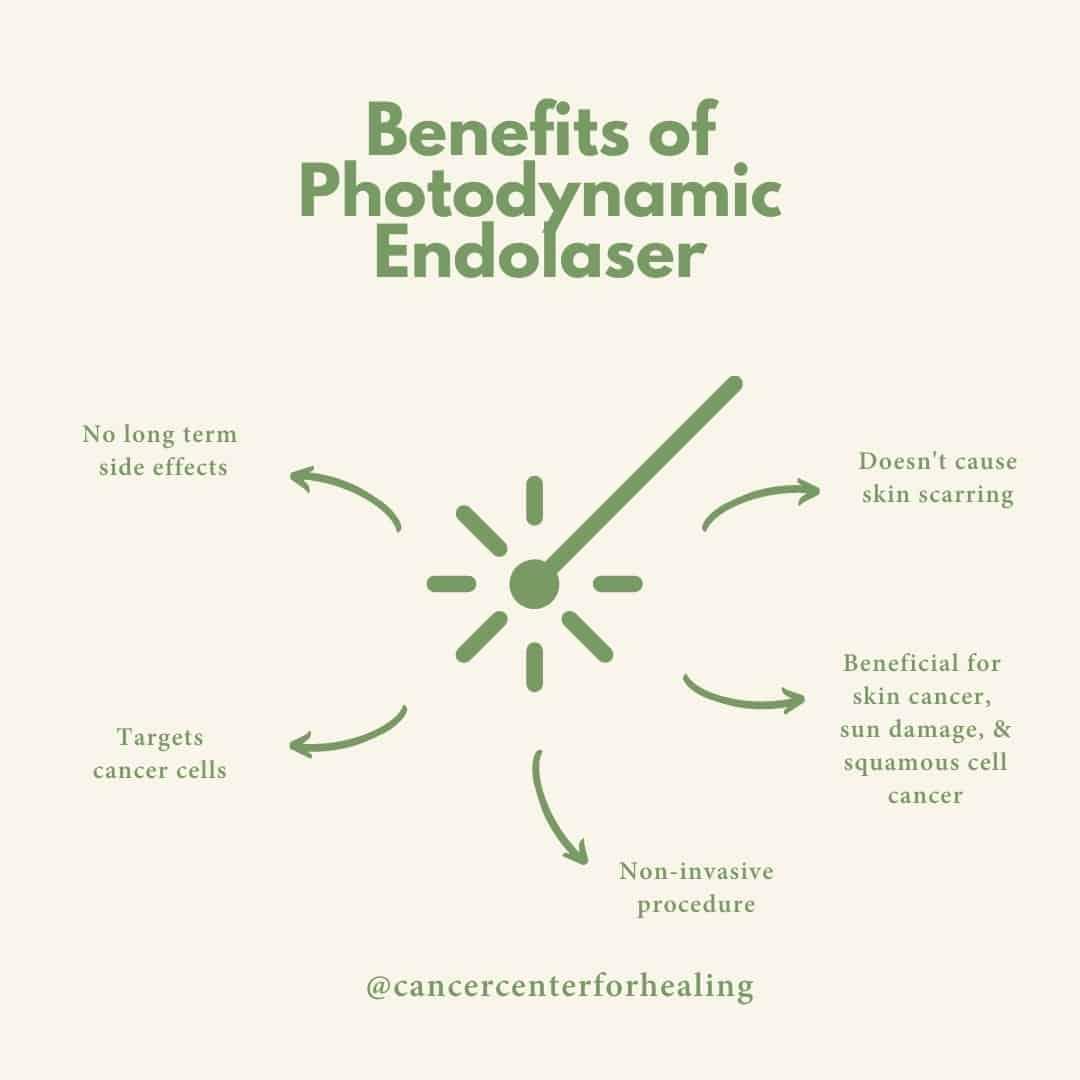 Photodynamic laser benefits for cancer in irvine, california