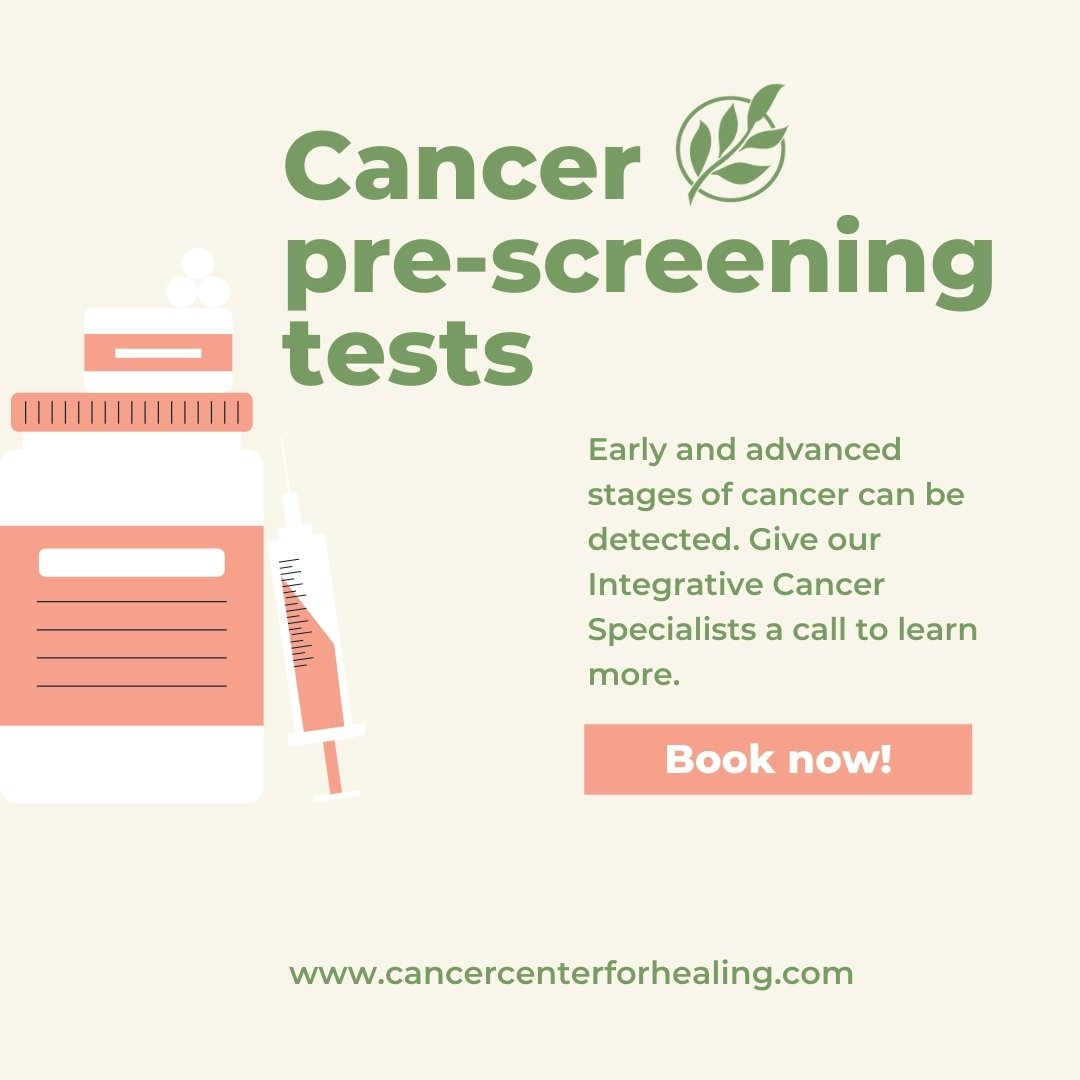Cancer-pre-screening-tests
